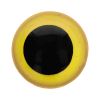 Safety eyes, yellow, size 8 - per pair
