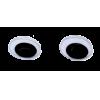 Wiggling eyes, black - per pair