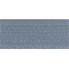 Broekrits, nylon, 12cm, grijs (578)
