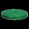 Twill tape, nylon, 20mm, green (433) - per 1m
