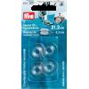 Canettes pour boîtier horizontal, plastique, dia 21,2mm / H 9,2mm, 4pce