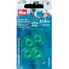 Canettes pour boîtier horizontal, plastique, dia 21,6mm / H 10,4mm, 4pce