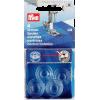 Canettes pour boîtier CB, plastique, dia 20,5mm / H 11,7mm, 4pce