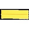 Biais, coton, 20mm, jaune (642) - par carte (5m)
