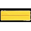 Biais, coton, 20mm, jaune (645) - par carte (5m)