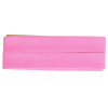 Bias binding, cotton, 20mm, pink (747) - per card (5m)