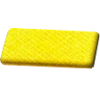 Biaisband, satijn, 20mm, geel (645) - per kaart (2m)