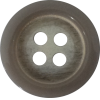 Knoop, 15mm, rond, grijs