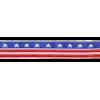 Ribbon Stars & Strips, 12cm - per 25cm