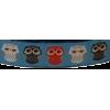 Ribbon, Owls, 15cm - per 25cm