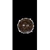 Knoop, 15mm, kokos-look, bruin