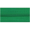 Zipper by the meter, nylon, green (540) - per 10cm