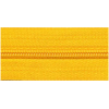 Zipper by the meter, nylon, yellow (506) - per 10cm