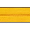 Rits per meter, nylon,  geel (506) - per 10cm