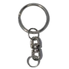 Key ring with spinner, 25mm
