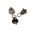 Little bells, bell-shaped, silver-coloured, 11mm