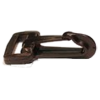Musketonhaak, 25mm, plastic, zwart