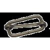 Schuifgesp, 30mm, brons