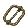 Schuifgesp, 13mm, brons