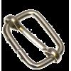 Boucle coulissante, 20mm, argent