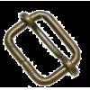 Schuifgesp, 20mm, brons