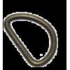 D-ring, 25mm, metaal, bronskleurig