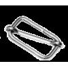 Adjusting buckle, 25mm, silver