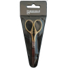 Little scissors with case, 13cm, gold