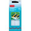 Hook and loop tape, 20mm, white, 60cm, self-adhesive