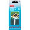 Hook and loop tape, 20mm, black, 60cm, self-adhesif