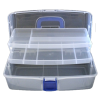 Sewing box, 38cm, with 2 pull-out drawers