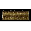 Elastiek, 20mm, goud (donker) - per 25cm