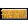 Elastiek, 20mm, goud (licht) - per 25cm