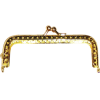 Bag handle, 10cm, gold