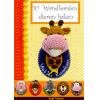 10 Wandborden dieren haken, Anja Toonen