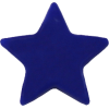 KAM Snaps Star, 12,4mm, plastic, shiny, dark blue - per 10