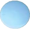 KAM Snaps, 10,7mm, plastic, shiny, light blue - per 10