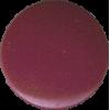 KAM Snaps, 10,7mm, plastic, shiny, bordeaux/aubergine - per 10