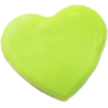 KAM Snaps Heart, 12,4mm, plastic, shiny, apple green - per 10