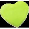 KAM Snaps Heart, 12,4mm, plastic, shiny, apple green - per 10