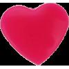 KAM Snaps Heart, 12,4mm, plastic, shiny, pink - per 10