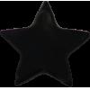 KAM Snaps étoile, 14,1mm, plastique, brillant, noir, - par 10