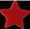KAM Snaps étoile, 14,1mm, plastique, brillant, rouge, - par 10