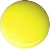 KAM Snaps, 10,7mm, plastic, shiny, neon yellow - per 10
