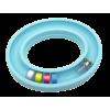 Bobbin ring, for +/- 30 bobbins, blue