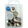 Cover buttons, 19mm, 5pce, without tool