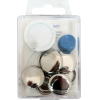 Cover buttons, 23mm, 4pce, without tool