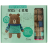 "Crochet amigurumi kit ""Boris the bear"""