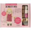 "Crochet amigurumi kit ""Scarlett doll"""