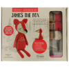 "Crochet amigurumi kit ""James the fox"""